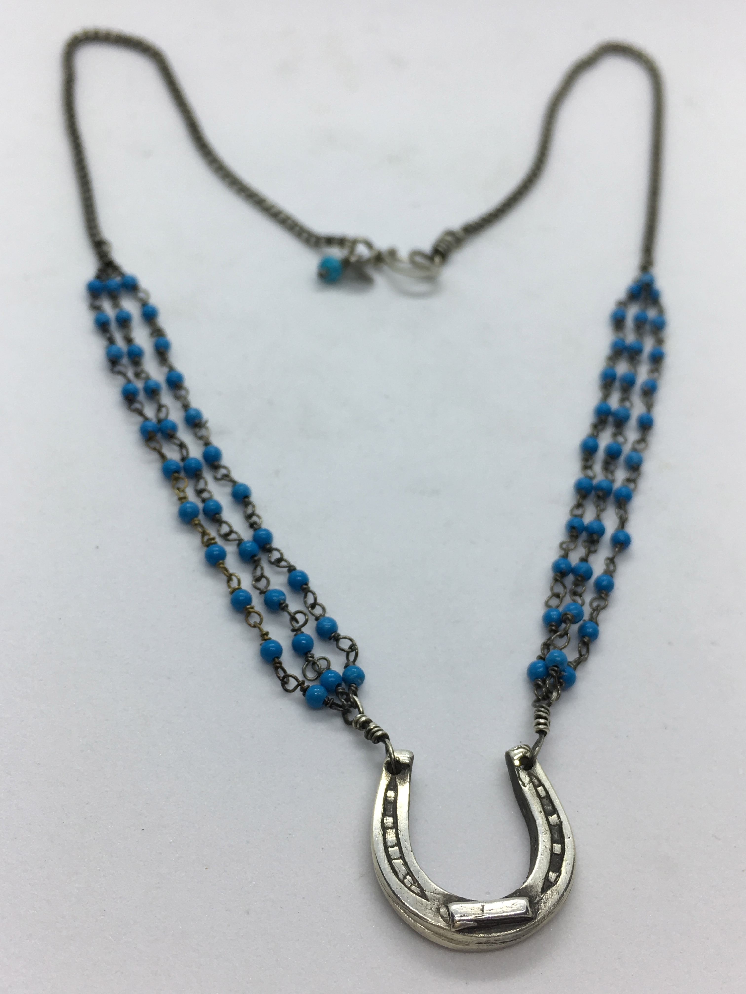 29N with Triple Turquoise Rosary