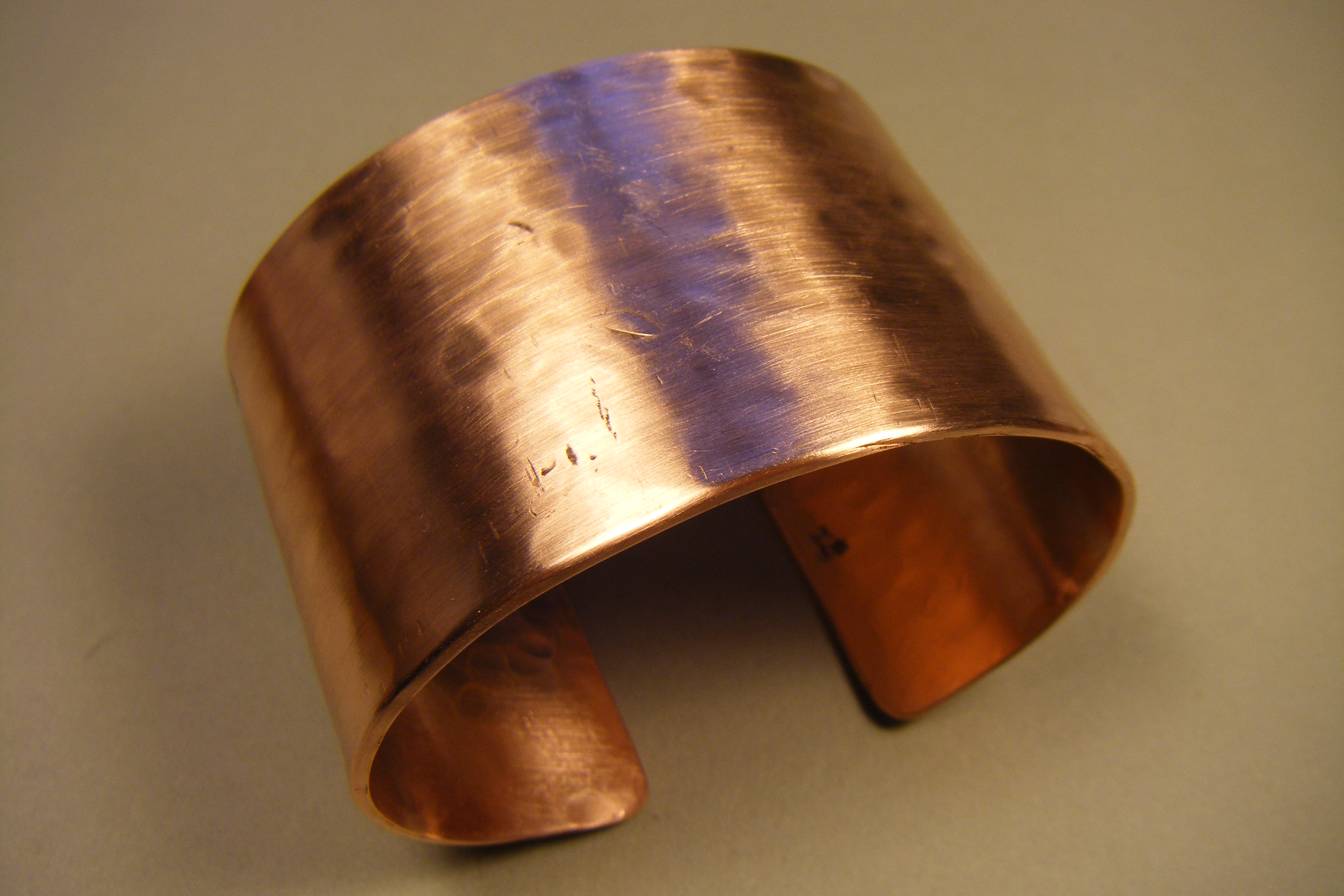 "1-3/4"" wide Copper Cuff"