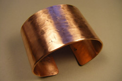 """1-3/4"""" wide Copper Cuff"""