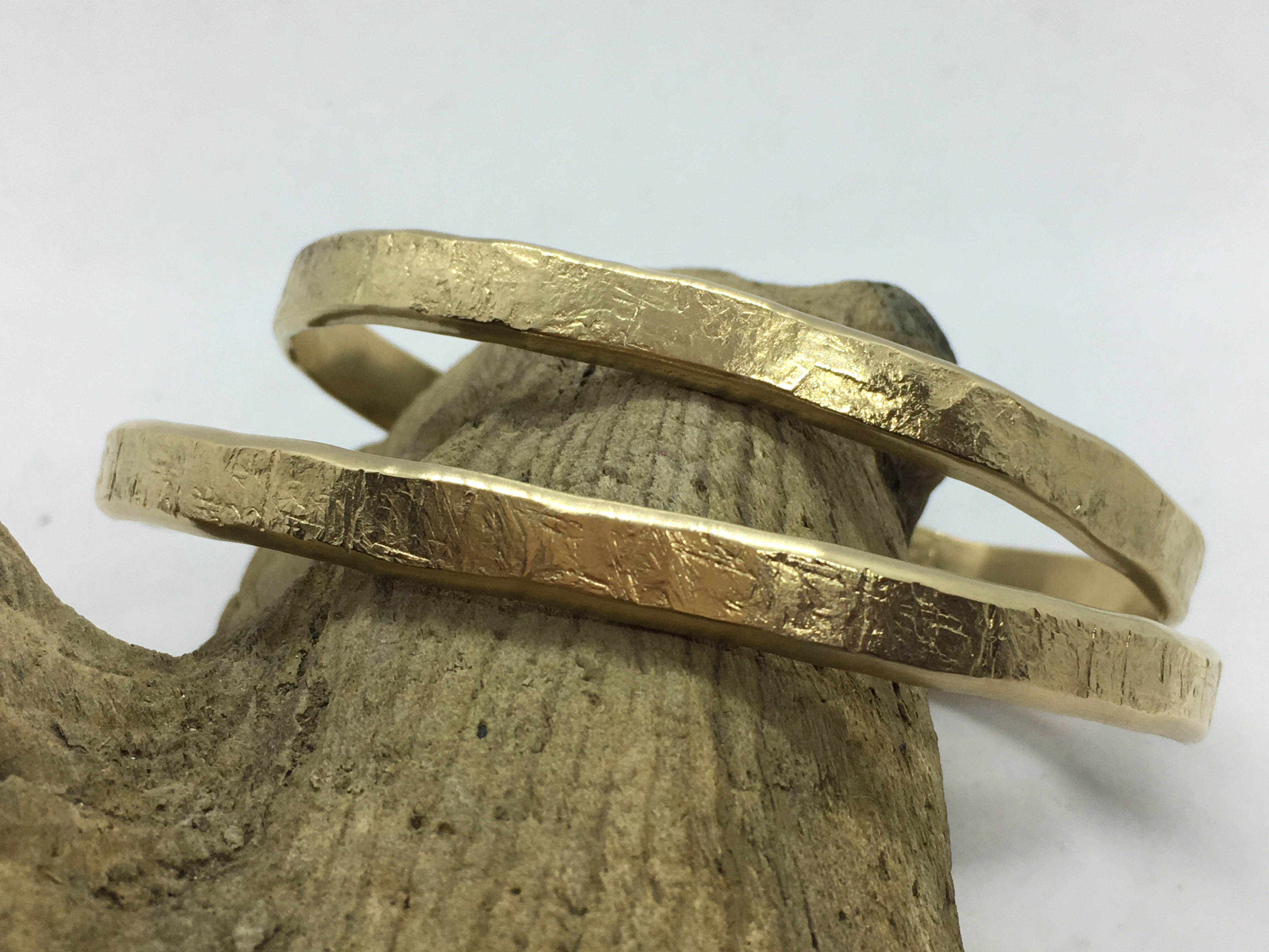 Textured 14kt Gold-Fill Cuff