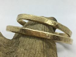 Textured 14kt Gold-Fill Cuff