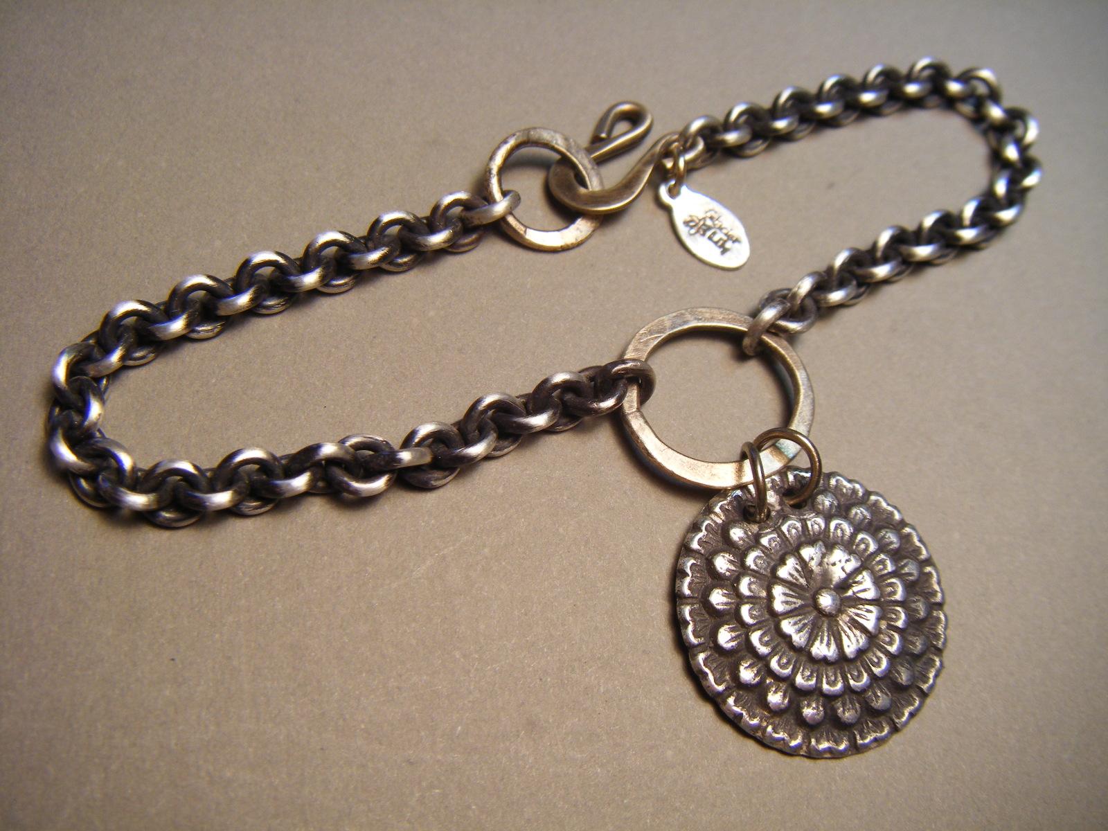 Cactus Dahlia Bracelet #b41