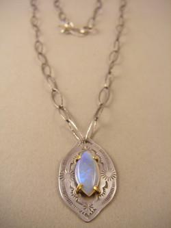 Australian Opal w/22kt prongs