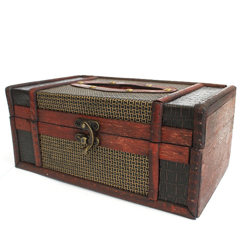 Large Tissue Box Trunk Style
