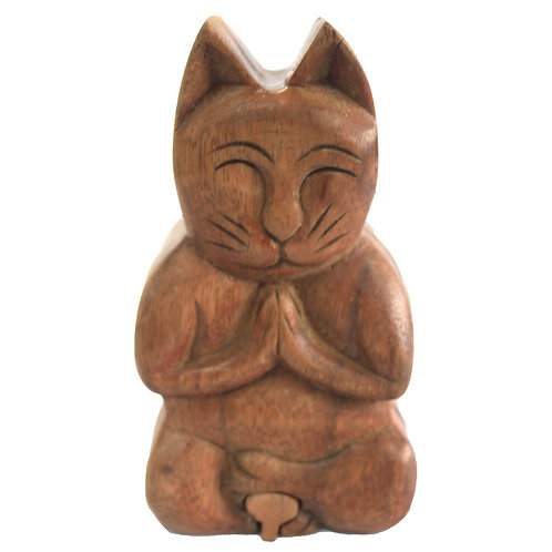Bali Magic Box - Yoga Cat