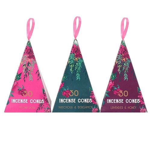 Luxury Oriental Flight Incense Cones - 30 pack