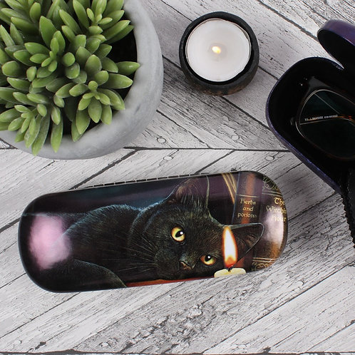 Witching Hour Glasses Case by Lisa Parker