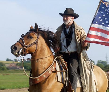 Western műsor / vadnyugati lovas show