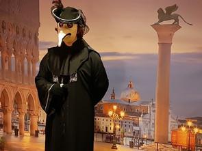 Velencei karneváli jelmezek