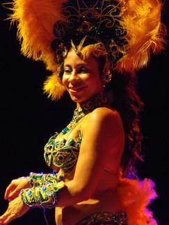 Brazil tánc show