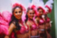 Revü táncosok