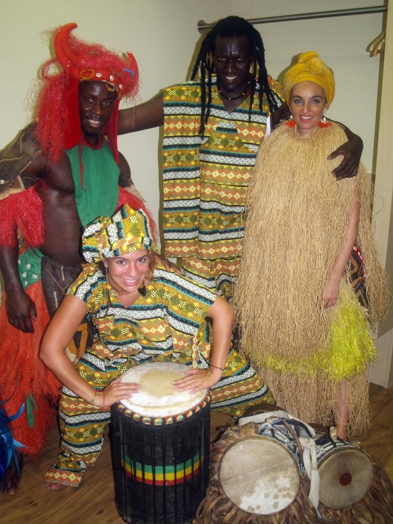 Afro előadás