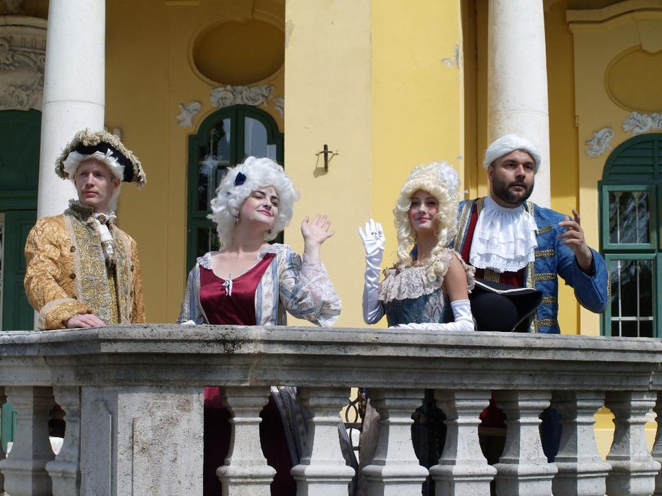 Barokk jelmezesek