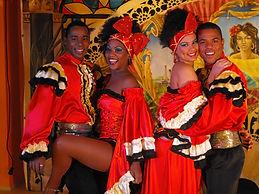 Kubai salsa rendezvény