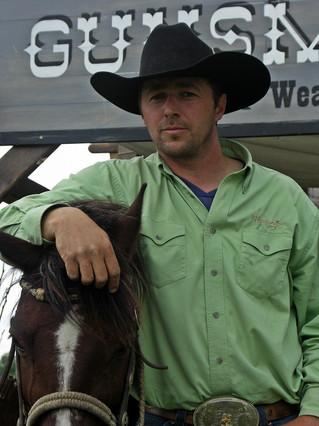 Western lovas szereplő