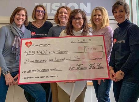 Volunteer Raises Awareness for PADS