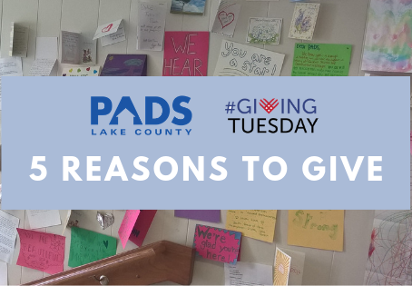 Keep it Local: 5 Reasons to Support PADS this #GivingTuesday