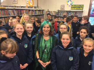 Visit to Cork City Library - Tuesday 11 October