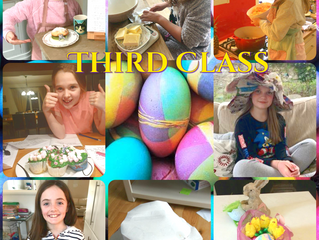 Delicious Dishes and Easter Bonnets - Third Class