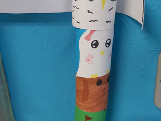 Totem Poles - 6th class