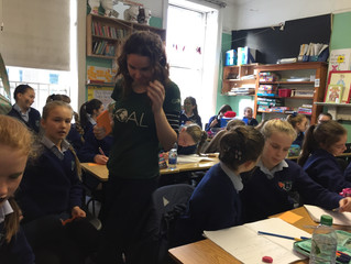 Goal visit to talk to 5th and 6th classes - Friday 28 October 2016