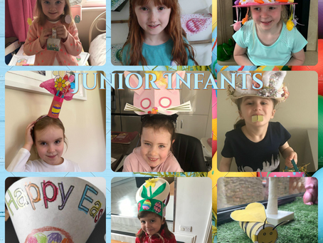 Easter Bonnets and Crafts - Junior and Senior Infants