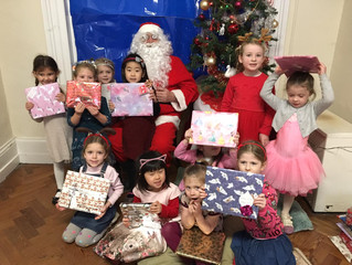 Santa Claus visits - 20th December 2018