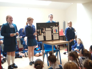 Sixth Class Assembly - 20th September