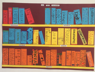 Bookshelves and Timelines by 5th Class