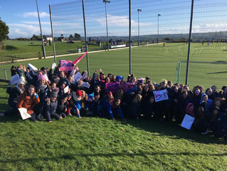 Supporting the Scoil Mhuire Munster Cup Semi-Final - 30th January 2019
