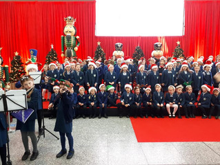 Carol Singing at Cork Airport