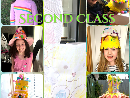 Easter Bonnets and Crafts - Second Class