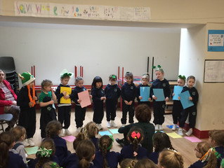 St. Patrick's Assembly - 15th March 2019