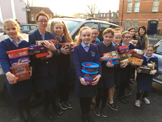 Doing our bit to help Penny Dinners / LauraLynn / Team Hope - December 2018