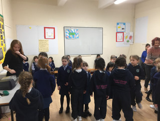 Seachtain na Gaeilge - Monday 8th October