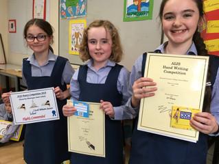 A.I.J.S. Award Winners - 23 May 2018