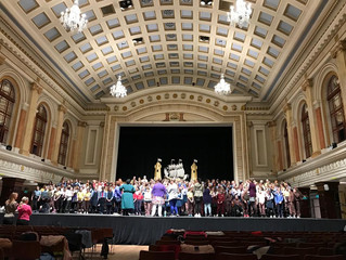 National Children's Choir Rehearsal- 26th March 2019