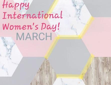 """HAPPY INTERNATIONAL WOMENS DAY!"""