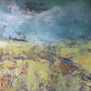 Summer Evening, Ribblesdale SOLD