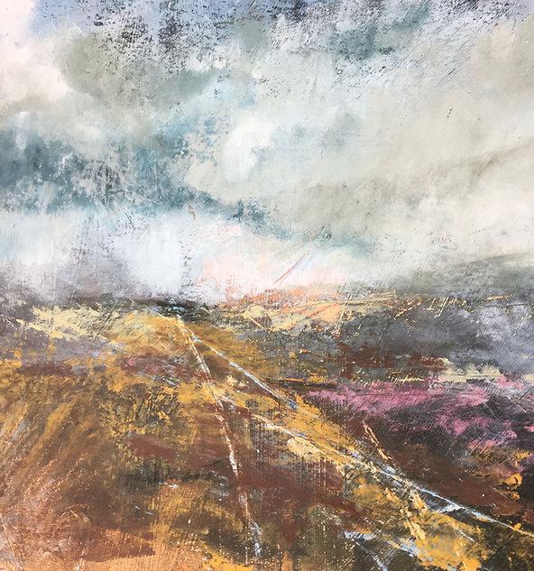 Penny Hunt. Tracks Across the Moors
