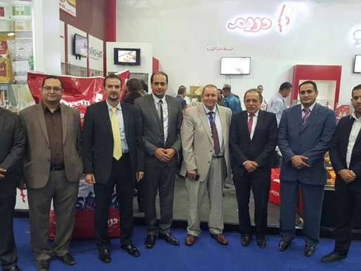 HACE 2015 – Egypt Al Ahram group contributed in HACE exhibition – Cairo