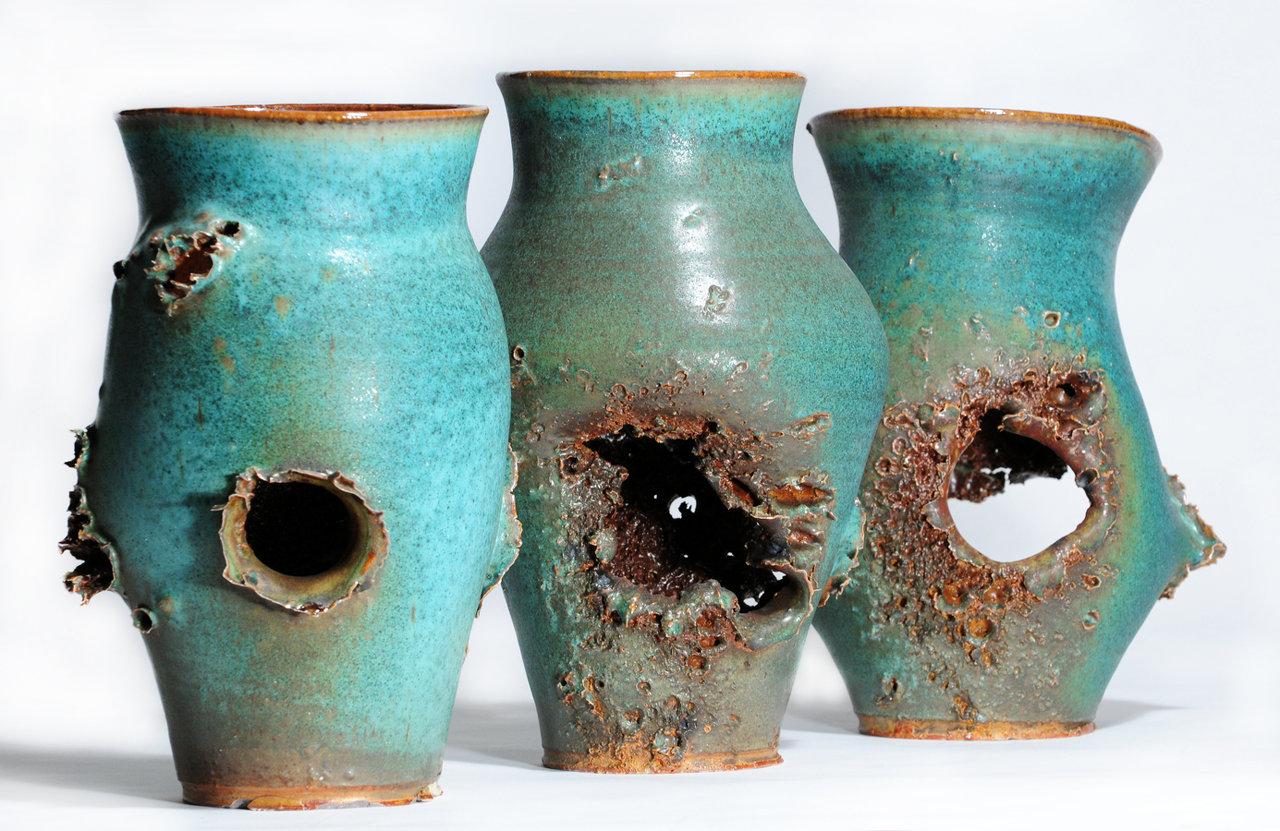 Bronze Vases