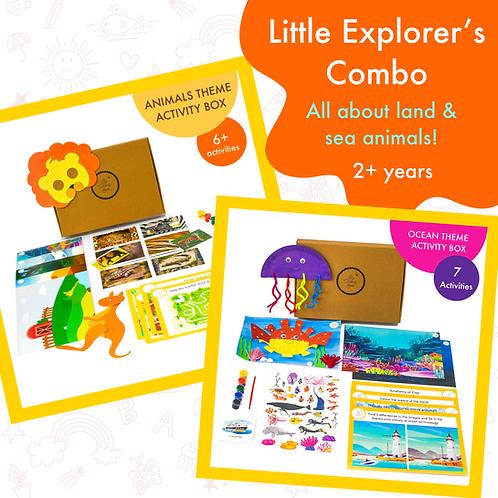 Little Explorers Combo Activity Boxes