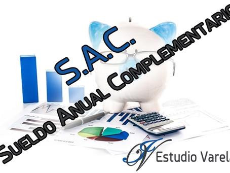 AGUINALDO - S.A.C (sueldo anual complementario)