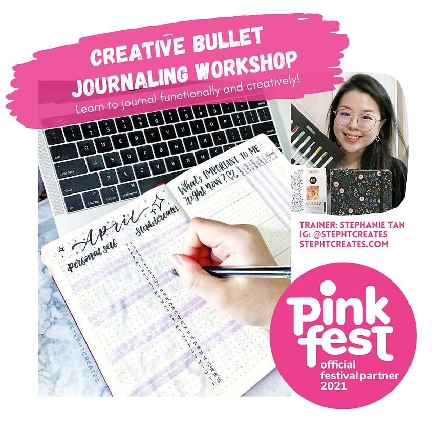 [Pink Fest] Virtual Creative Bullet Journal Workshop