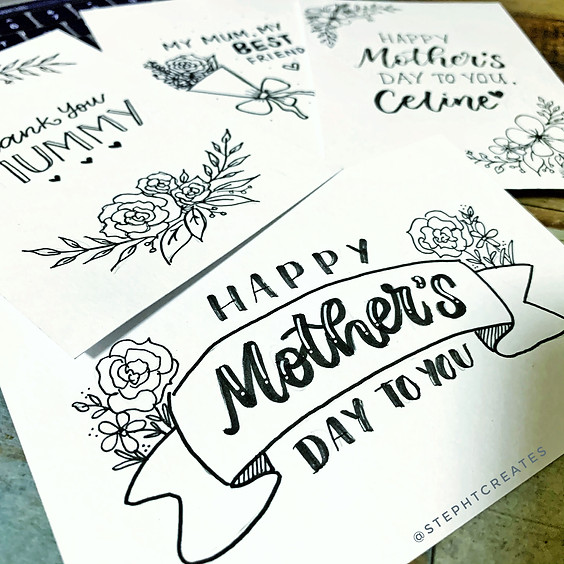 Doodle & Letter Activity Webinar (Mother's Day Edition)