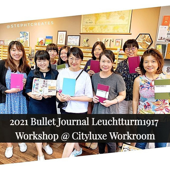 2021 Bullet Journal Setup Leuchtturm1917 Workshop @ Cityluxe