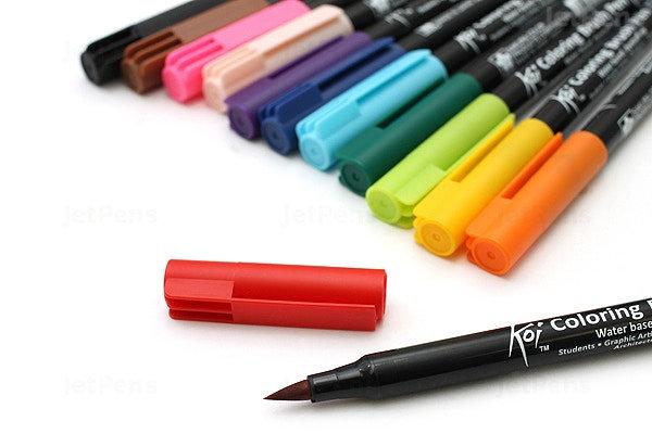 Sakura Koi Coloring Brush Pen Set (12color Set)