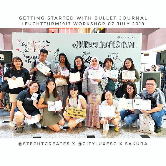 Alumni Gather & Jam: Bullet Journal