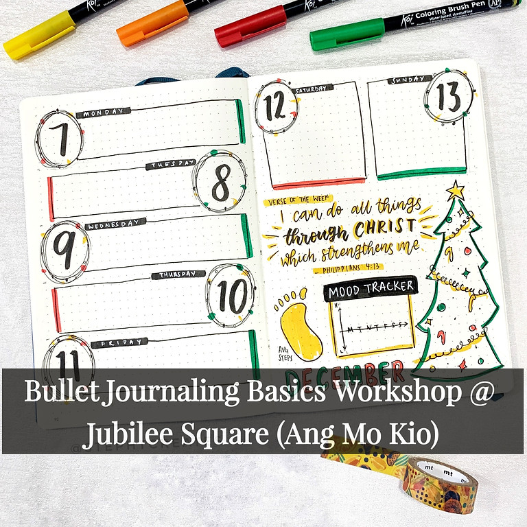 Virtual Bullet Journal Basics Workshop